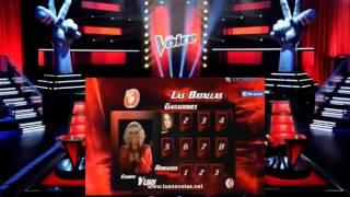 La voz Mexico cuarta temporada   Capitulo 7 Domingo 19 de Octubre del 2014