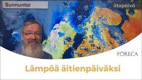Kuopio Sää Foreca