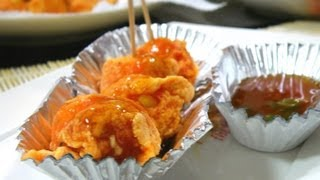 Kwek-kwek with Sweet & Sour Sauce