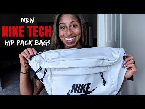 24afca68e4748 NEW Nike TECH HIP PACK Bag - IN MY BAG that's bigger than ME!