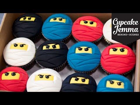 Make Behind the Scenes: Lego Cupcake Ninjas   Cupcake Jemma Snapshots
