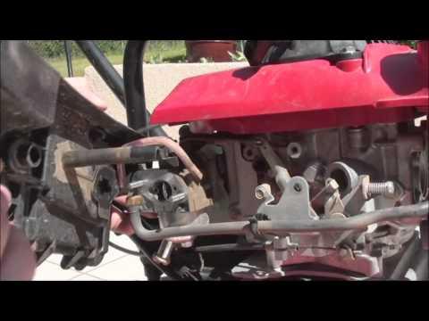 Reglage Probleme De Carbu De La Motobineuse Honda Fg210
