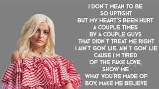 Bebe Rexha & Florida Georgia Line - Meant To Be (with LYRICS)