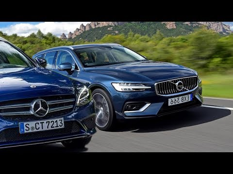 2019 Volvo V60 D4 Vs. 2019 Mercedes C 220 d Estate