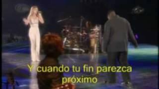 Celine Dion - Au Coeur du Stade- Parte  12 - I´m your angel (traducida)