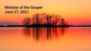 Minister of the Gospel - Rev. Lee Wong - Rosewood Baptist church June 27, 2-21 ESC worship