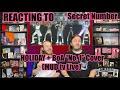 "Reacting To SECRET NUMBER - ""HOLIDAY"" + ""No. 1"" By BoA (MUD Tv Live)"