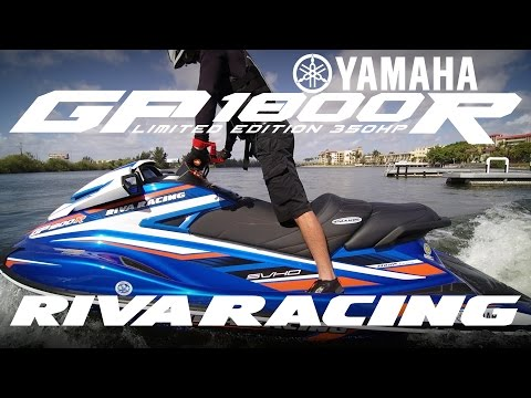Now Available! The RIVA Yamaha GP1800R Limited Edition