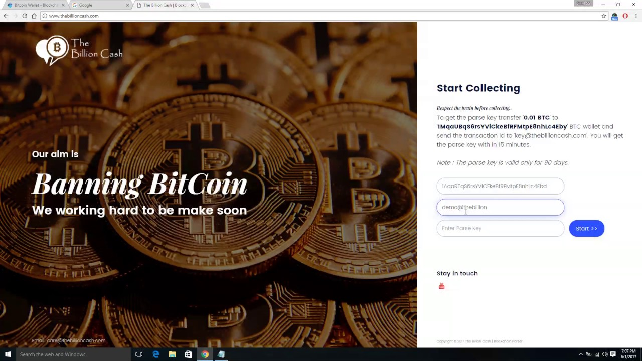 Online BitCoin Cracker - 100% Working