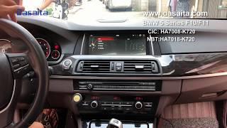 BMW 5 Series F10 F11 android head-unit full installations