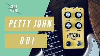 PettyJohn Electronics ODI // Sonic Snack Pedal Demo