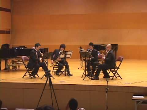 Danny Boy / Tough Wings Saxophone Quartet