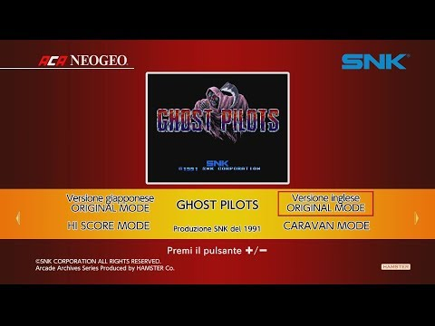 ACA NEOGEO Ghost Pilots (Switch) First Look on Nintendo Switch - Gameplay