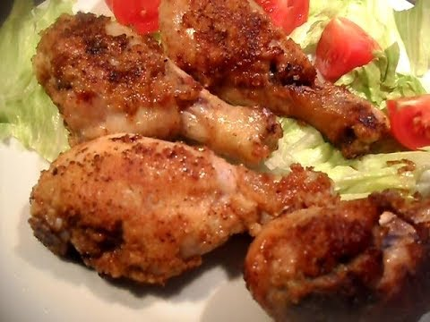 KFC Style Fried Chicken Drumsticks; Crispy and Moist Fried Chicken Drumsticks