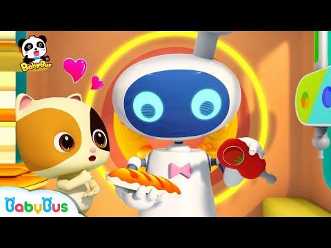 El Robot Que Vende Los Panes | Canciones Infantiles | BabyBus Español