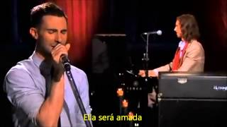 Repeat youtube video Maroon 5 - She will be loved LIVE subtitulado en español
