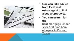 Best Mortgage Lenders for First Time Home Buyers