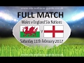 Wales vs England  - FULL MATCH - Rugby 6 Nations 2017