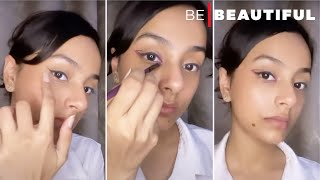 Graphic Liners for Beginners #YTShorts #shorts #beauty #eyeliner #howtoapplygraphicliner #trending