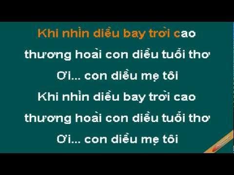Con Dieu Cua Me Karaoke - Đan Trường - CaoCuongPro