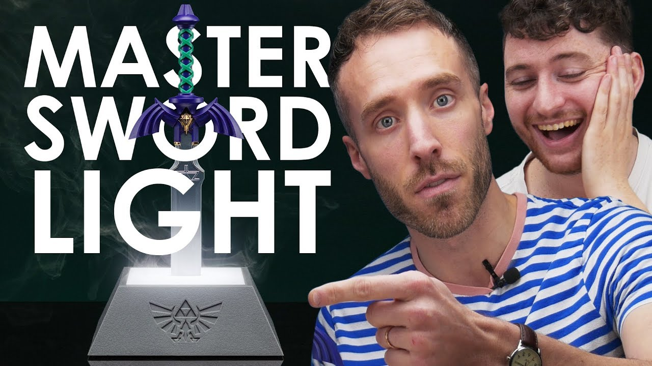 The Legend Of Zelda Master Sword Lamp Unboxing Paladone Tv