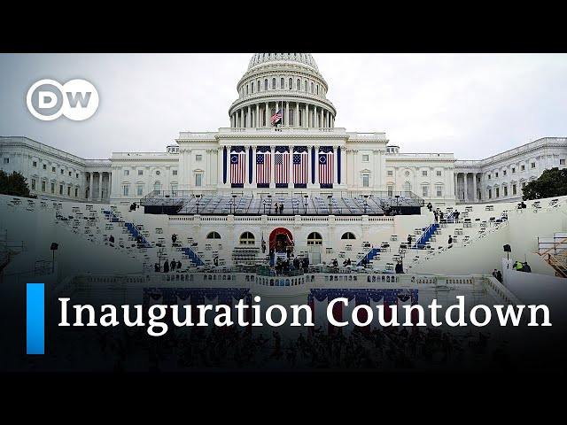 President Trump: The 24 final hours in the White House   DW News