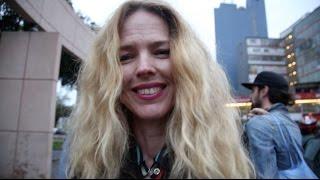 Christina Rosenvinge paseó en bicicleta por Lima y recomendó su uso