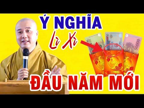 Thầy Thích Pháp Hoà Chúc Tết 2021 Và Giải Đáp Thắc Mắc Của Phật Tử Về Ý Nghĩa Bao Lì Xì ( Rất Hay)