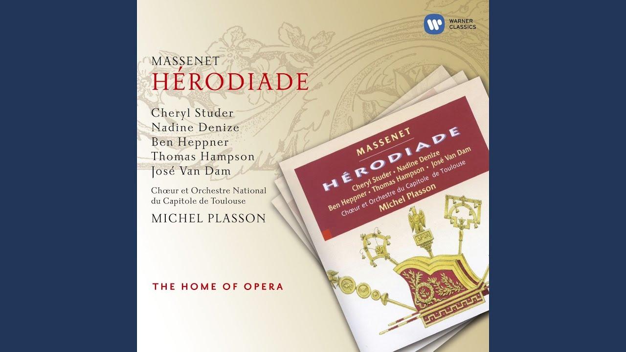 Hérodiade - Acte II - Premier tableau - Scènes VI & VII : A mon approche quel trouble fait ...