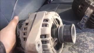Замена генератора на Газели двигатель 405 евро 3