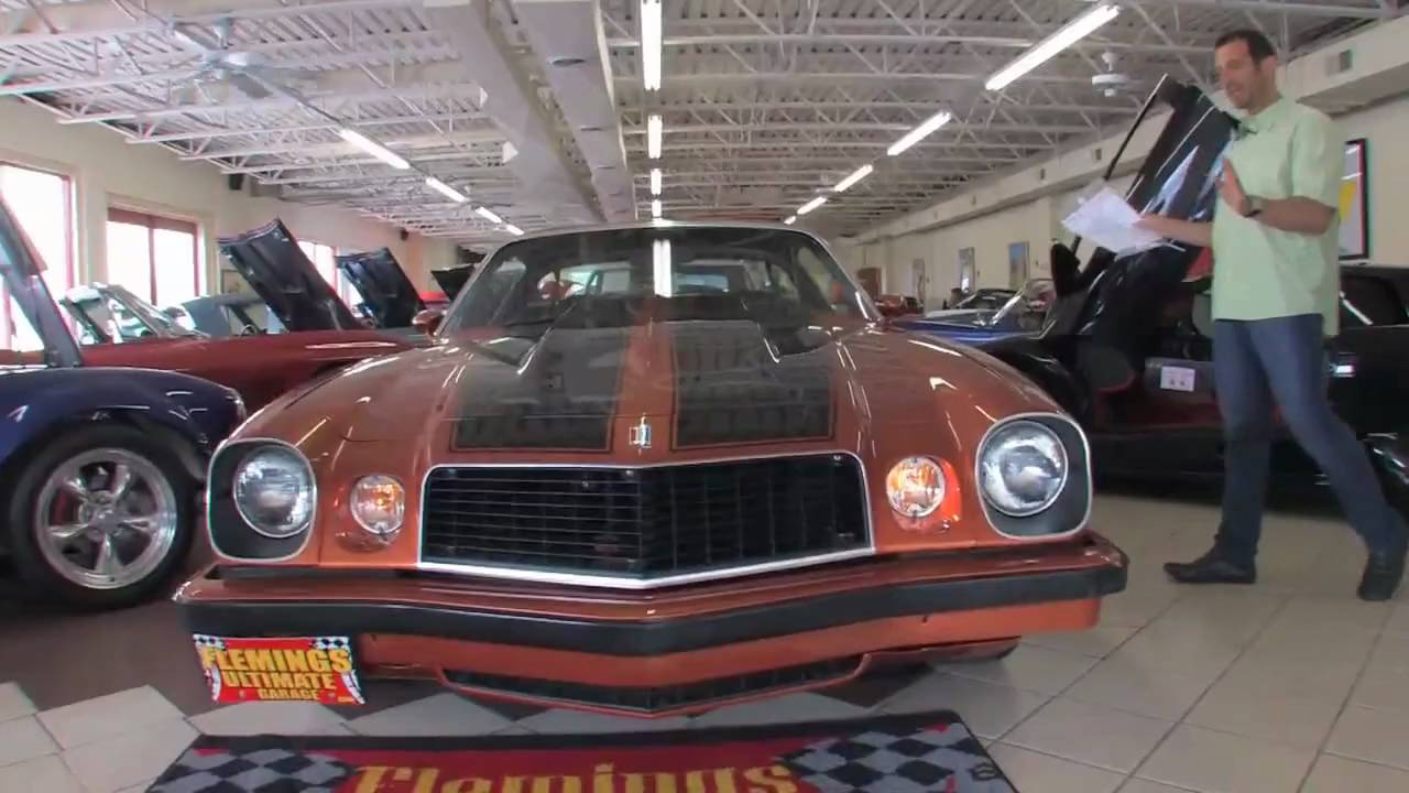 1975 Chevrolet Camaro Z28 Under 20k For Sale With Test Drive Driving Sounds And Walk Through Video