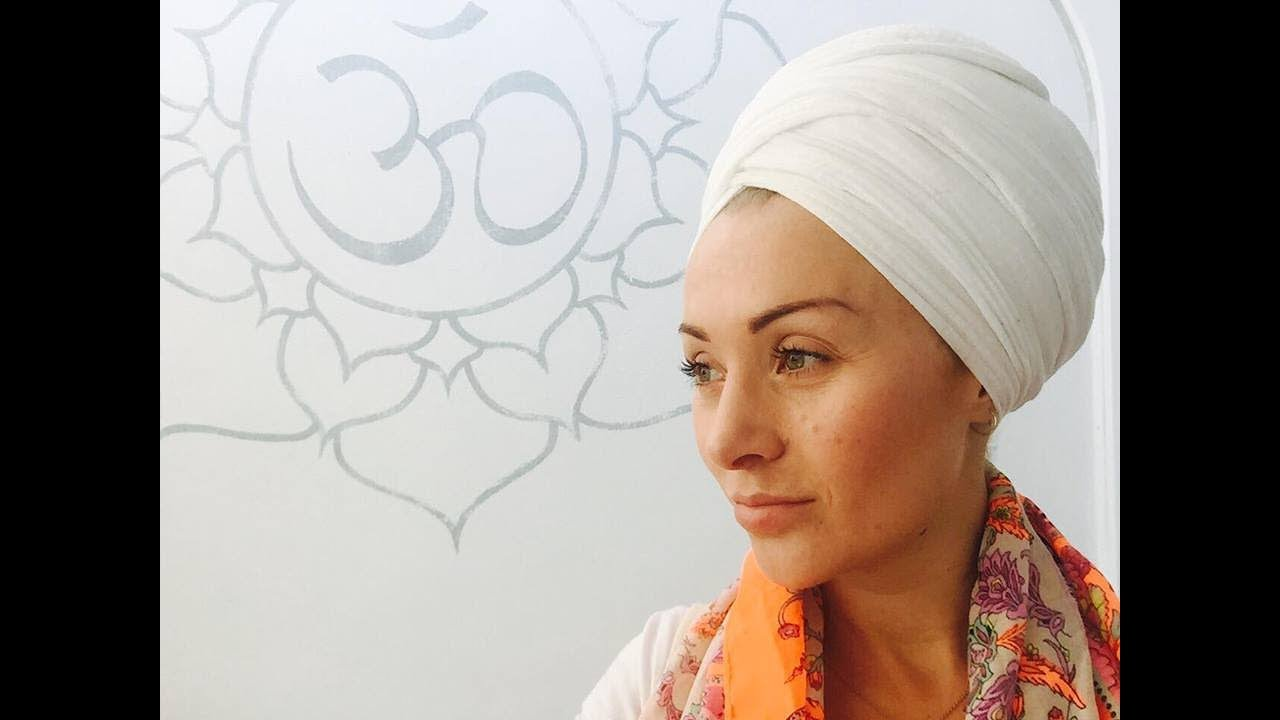 How To Tie a Turban (Kundalini Yoga)