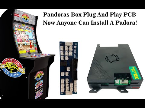 PCB To Easily Install A Pandoras Box 6 / DX Into Arcade1Up or Full Size Machine by DIY Retro Arcade from DIY Retro Arcade