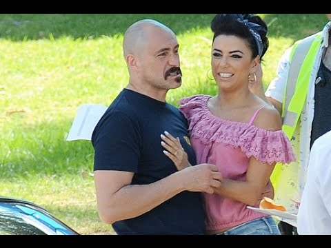 Thumbnail: Eva Longoria sets racing in tight jeansco star Demian Bichir while filming Low Riders