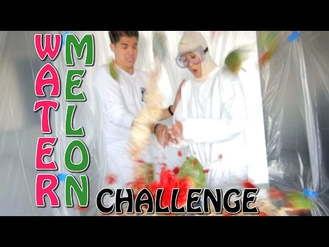 INSANE EXPLODING WATERMELON CHALLENGE!!