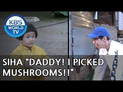 SIHA is back with handful of mushrooms! [The Return of Superman/2018.06.24]