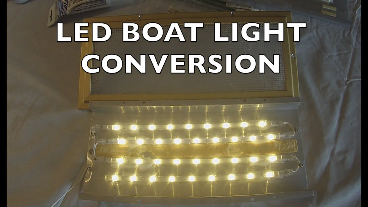 Led Cabin Light Installation On A Boat The Simple Way Youtube Wiring Lights In