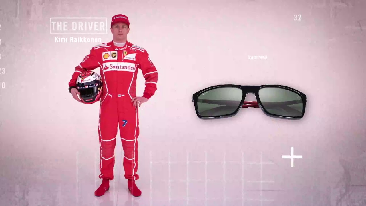 622af3768a Ray Ban Scuderia Ferrari Collection - YouTube