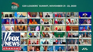 Trump, world leaders meet virtually for the G20 Summit