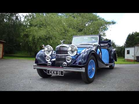FEATURED: 1938 Alvis Speed 25 SC Drophead Coupe