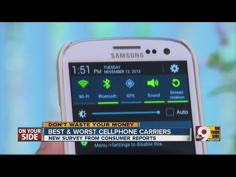 Best and worst cellphone carriers