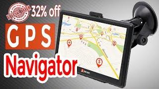 Best gps navigation   Junsun 7 inch HD Car GPS Navigation   top GPS navigator