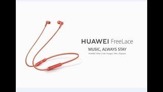 Huawei's FreeLace Bluetooth earphone