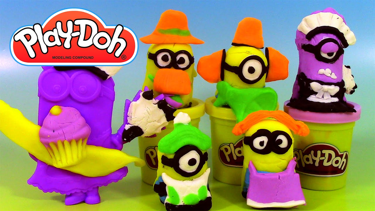 p 226 te 224 modeler minions cr 233 ations chaotiques play doh minions