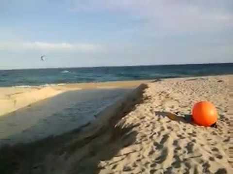 231564f601cc Teen boy falls doing flip on beach - YouTube