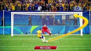 Ungültige ELFMETER Tore im FUßBALL | Messi, Pogba, Mahrez usw.