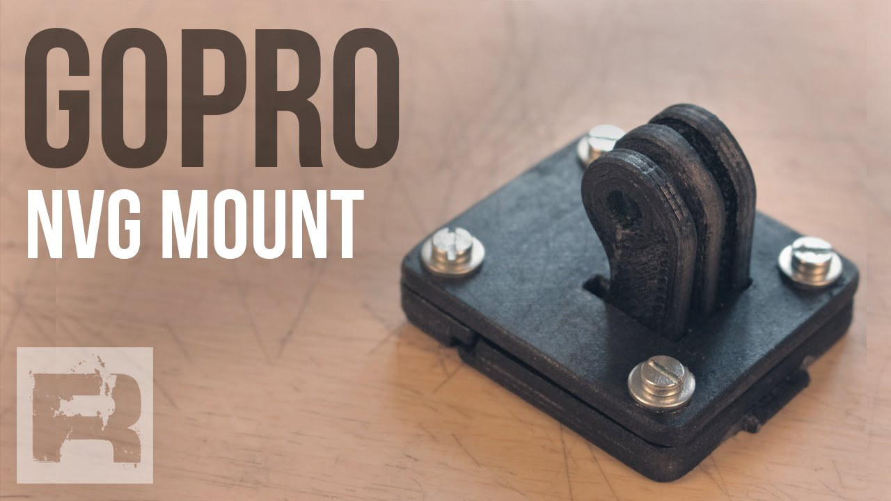 Supporto Gopro Per Elmetto - Made in Italy - NVG 3D Printed - YouTube defe75e802df