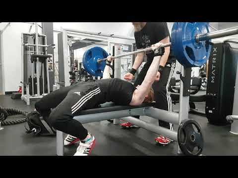 100KG Bench Press For Reps No Cheating |17 Year Old @80kg Bodyweight