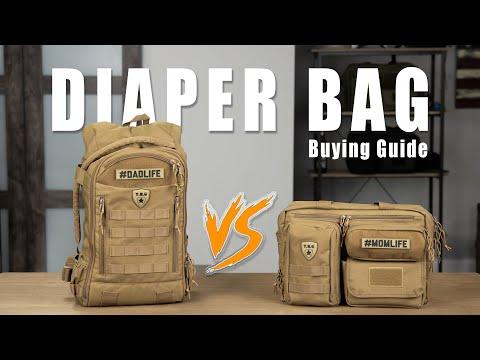 Diaper Bag Buying Guide // Diaper Bag VS Backpack Diaper Bag For Dads