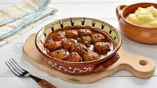 Chiftele marinate in sos de rosii (CC Eng Sub) | JamilaCuisine